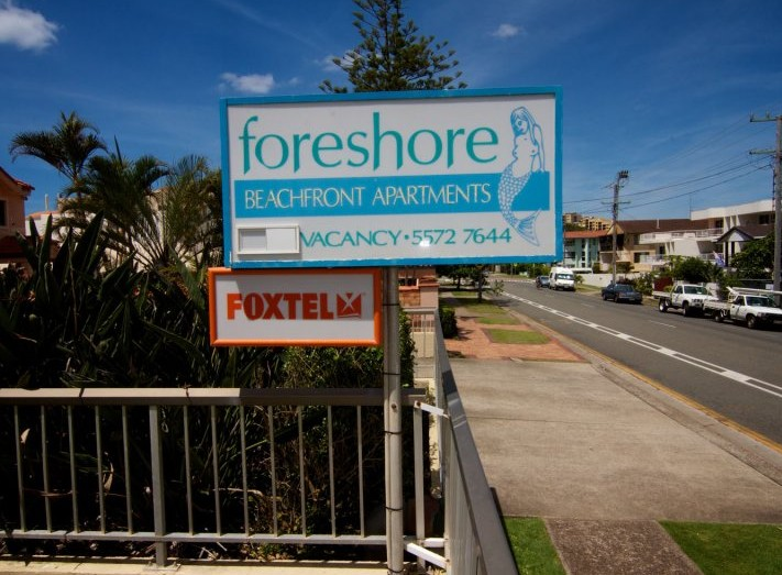 Foreshore Apartments Mermaid Beach - Accommodation Port Macquarie