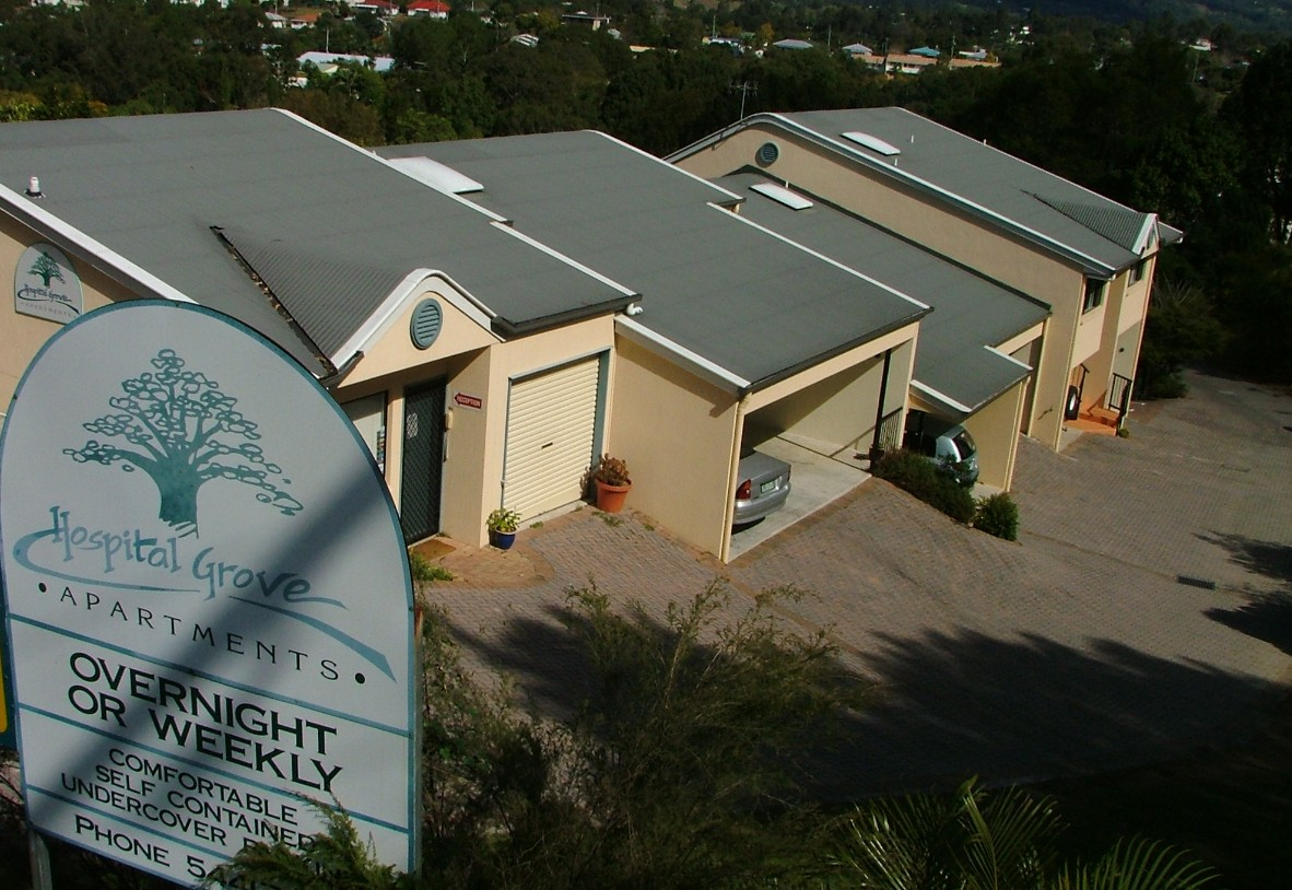 Hospital Grove Apartments - Accommodation Port Macquarie