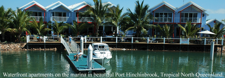 Ripples On The Marina Port Hinchinbrook