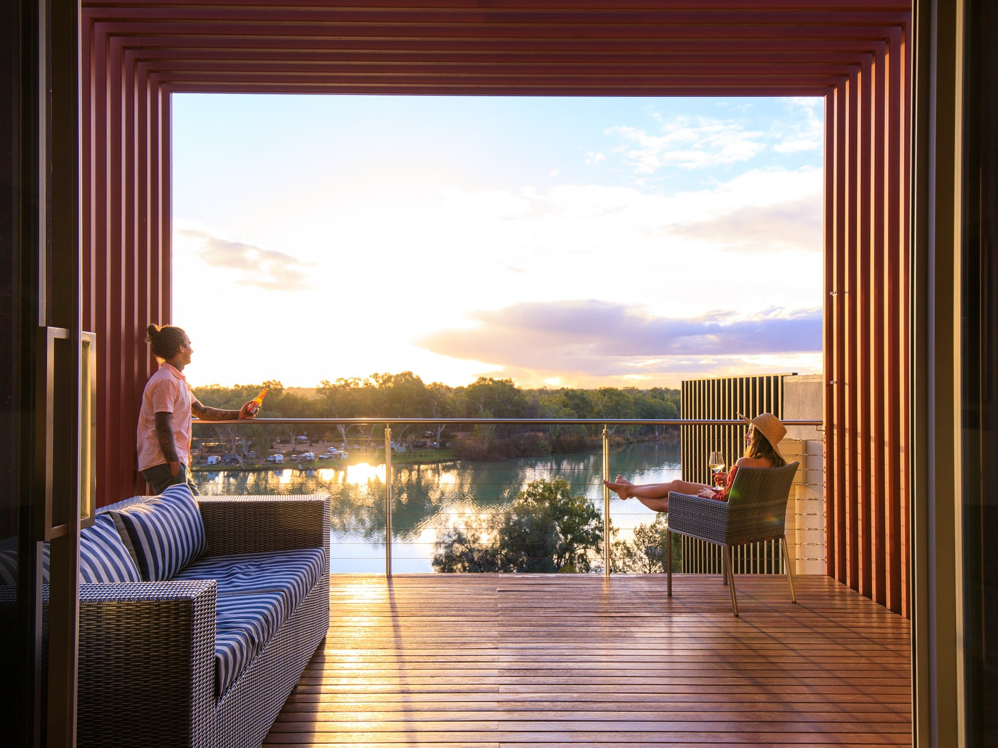 The Frames - Luxury Riverland Accommodation - Accommodation Port Macquarie