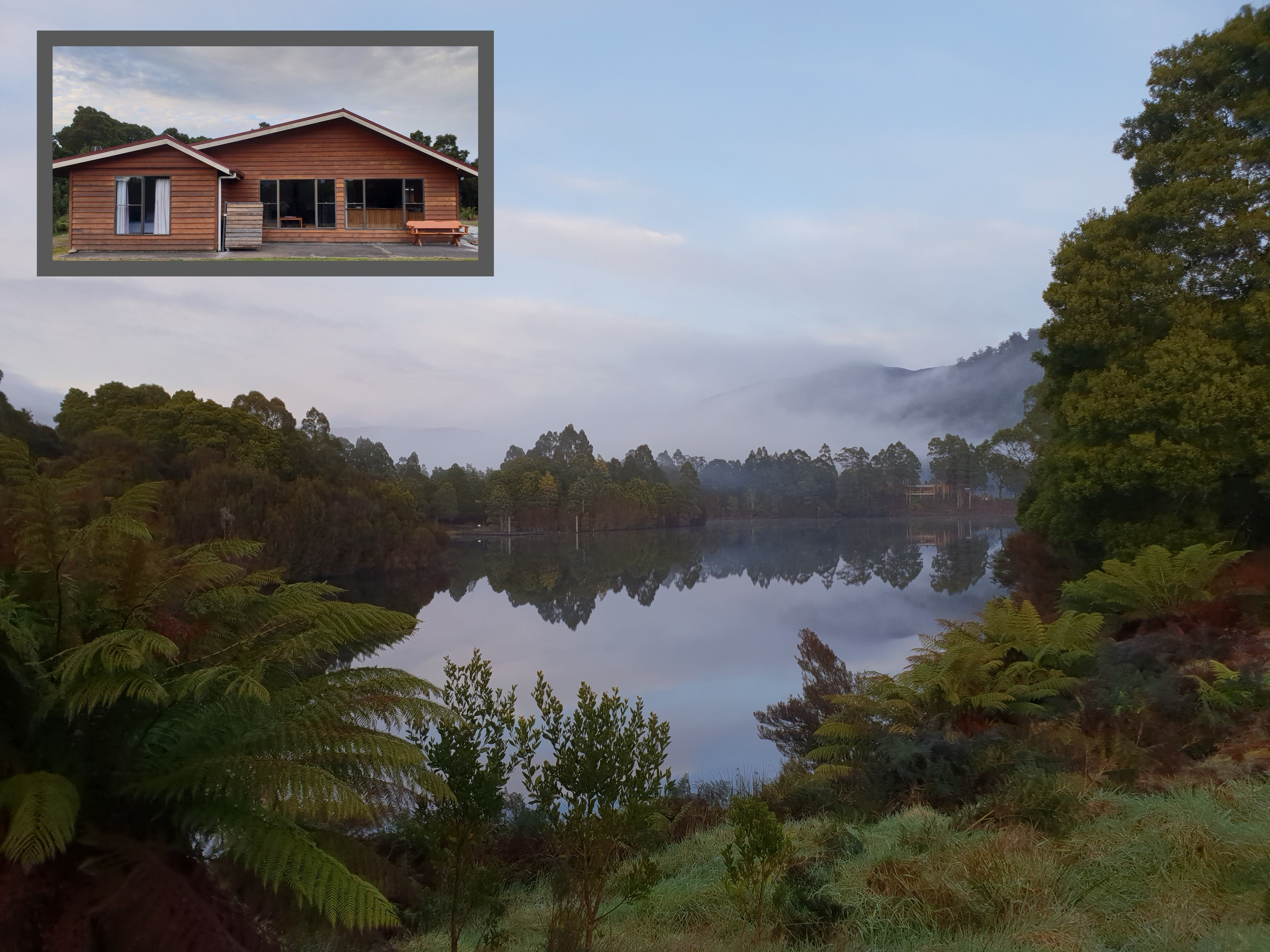 Tullah HideAway - Lakeside  Mountain Views - Accommodation Port Macquarie