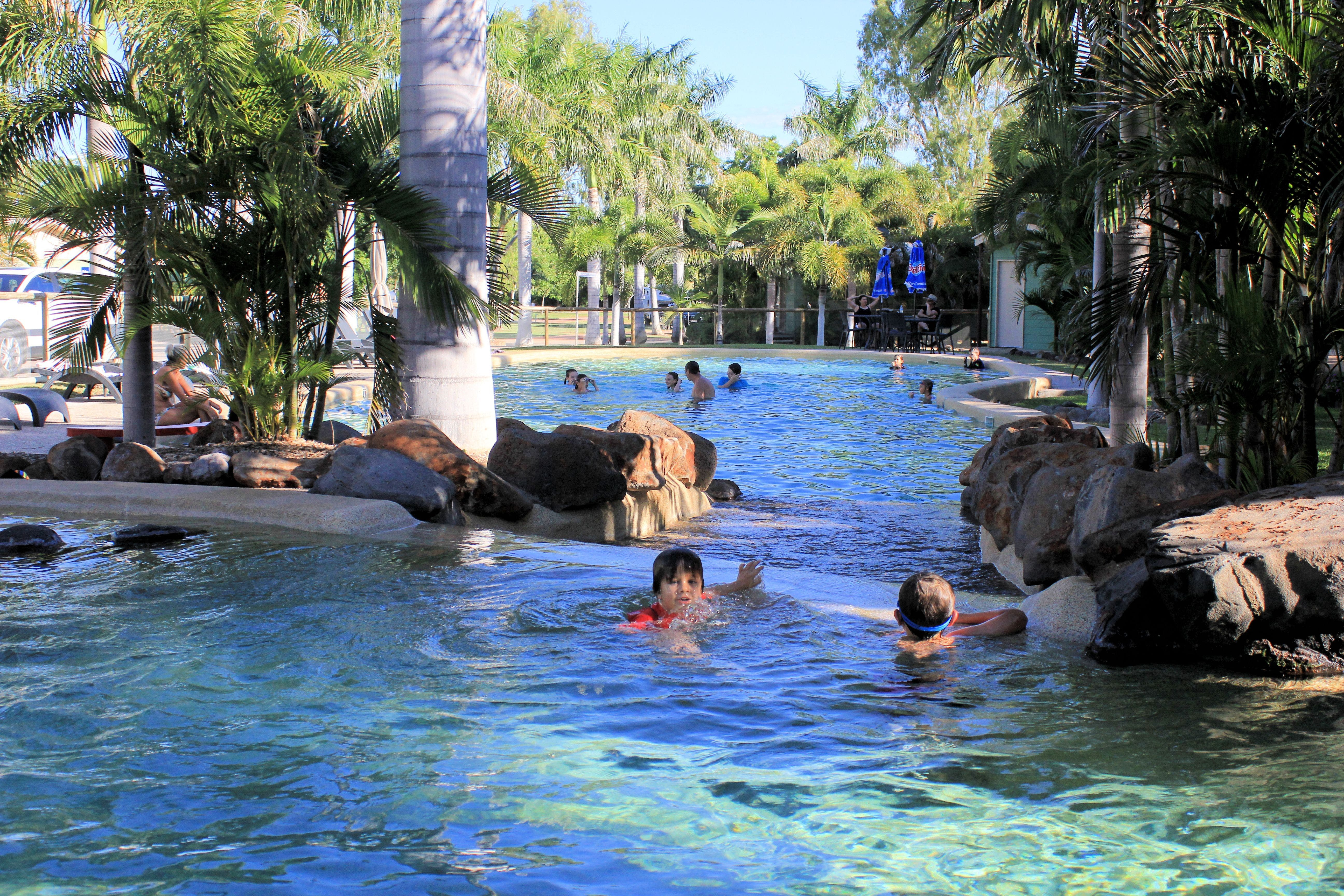 Big4 Aussie Outback Oasis Holiday Park - Accommodation Port Macquarie