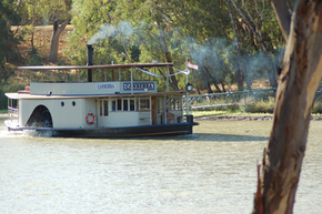 Emmylou Paddle Steamer - Accommodation Port Macquarie