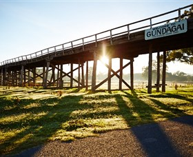 Historic Bridges of Gundagai - Accommodation Port Macquarie