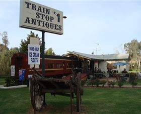 Train Stop Antiques - Accommodation Port Macquarie