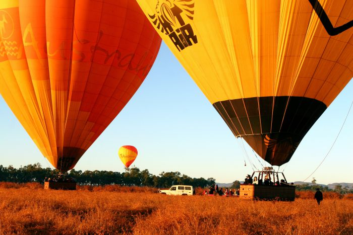 Hot Air Balloon Scenic Rim - Accommodation Port Macquarie