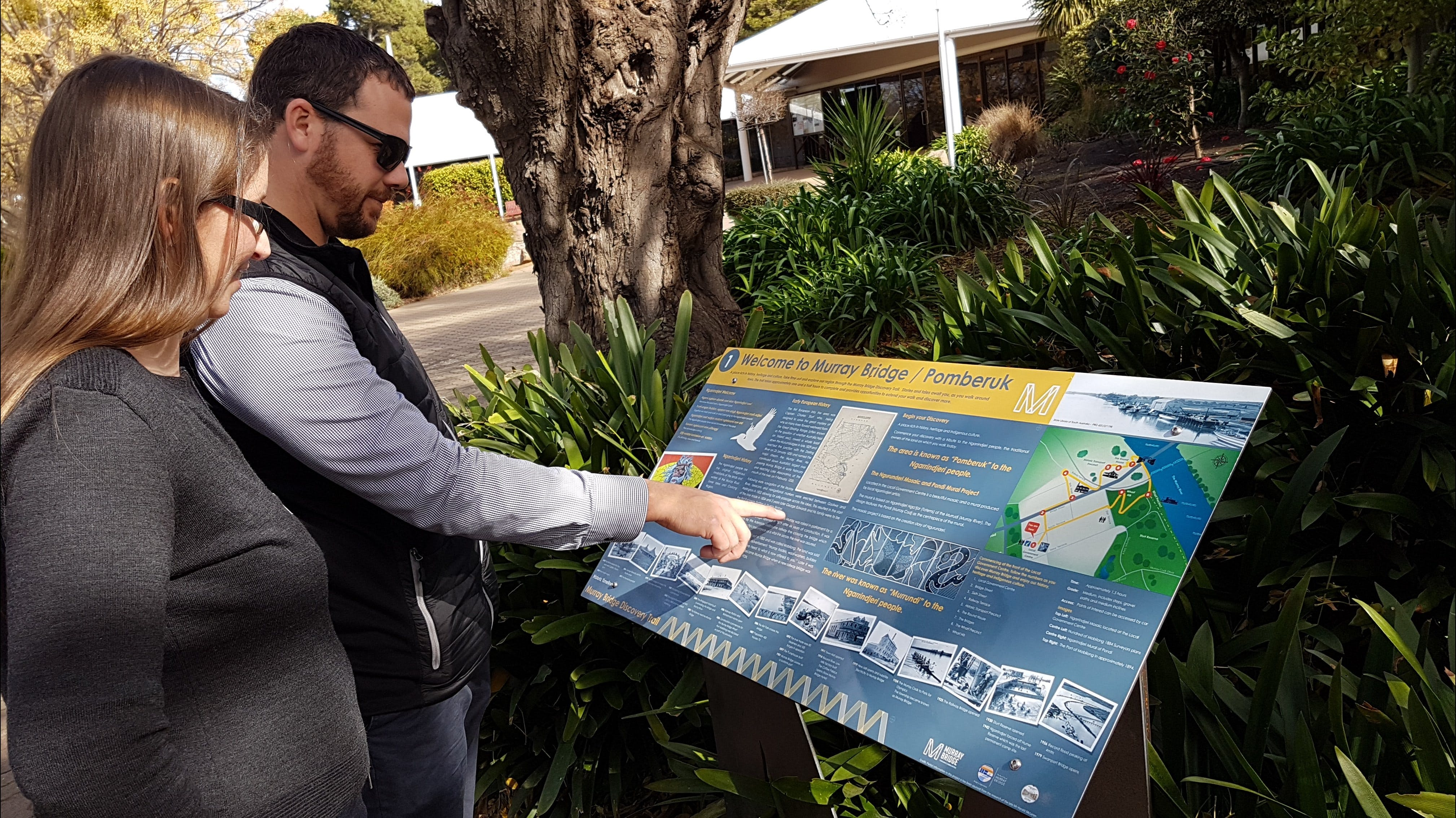 The Murray Bridge Discovery Trail - Accommodation Port Macquarie