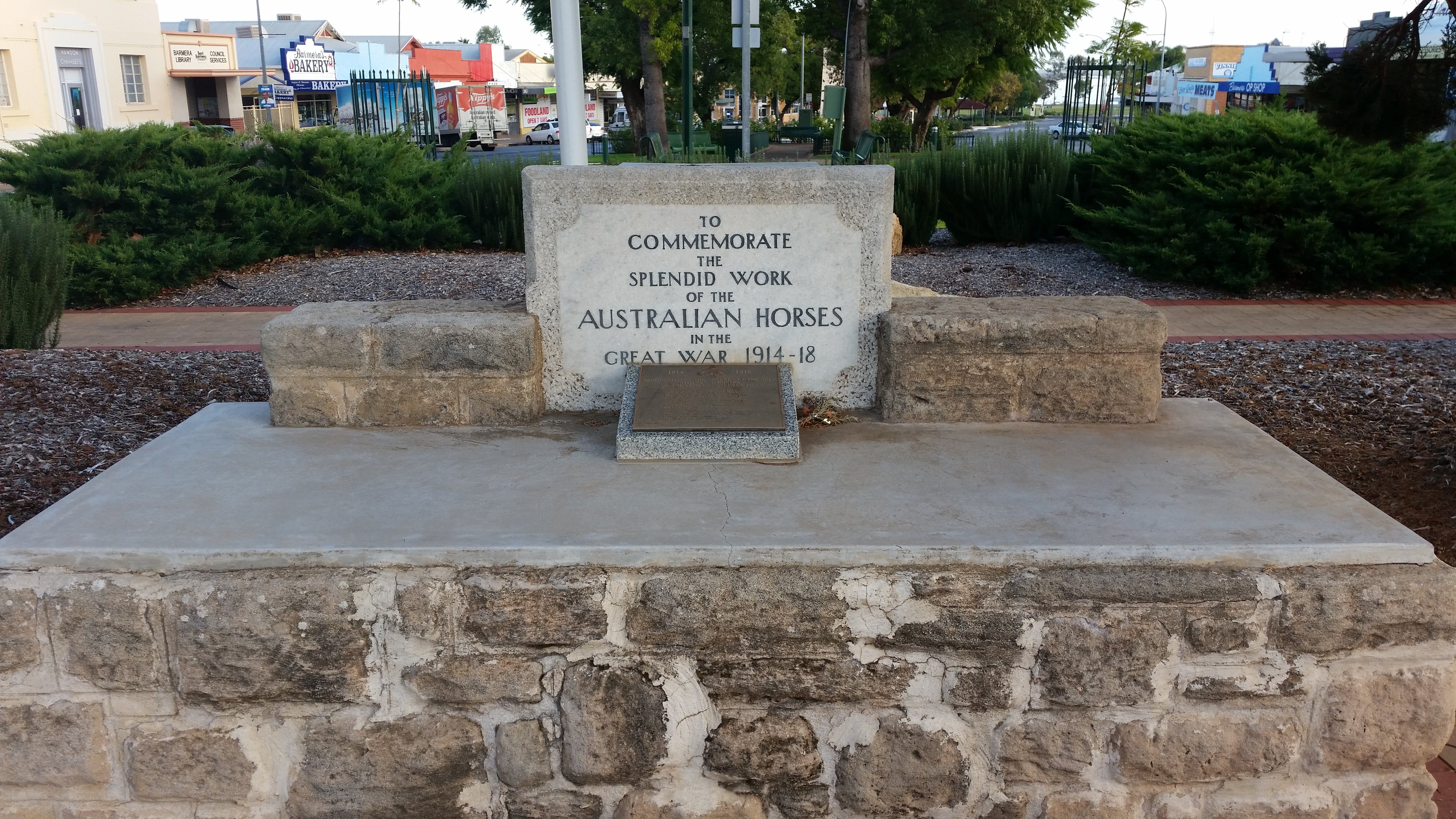 Barmera Horse Trough - Accommodation Port Macquarie