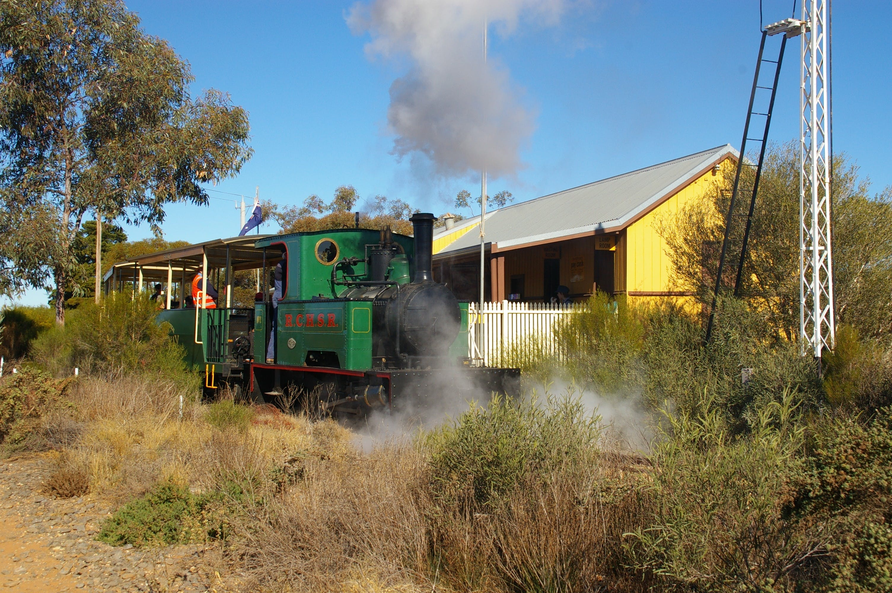 Red Cliffs Historical Steam Railway - Accommodation Port Macquarie