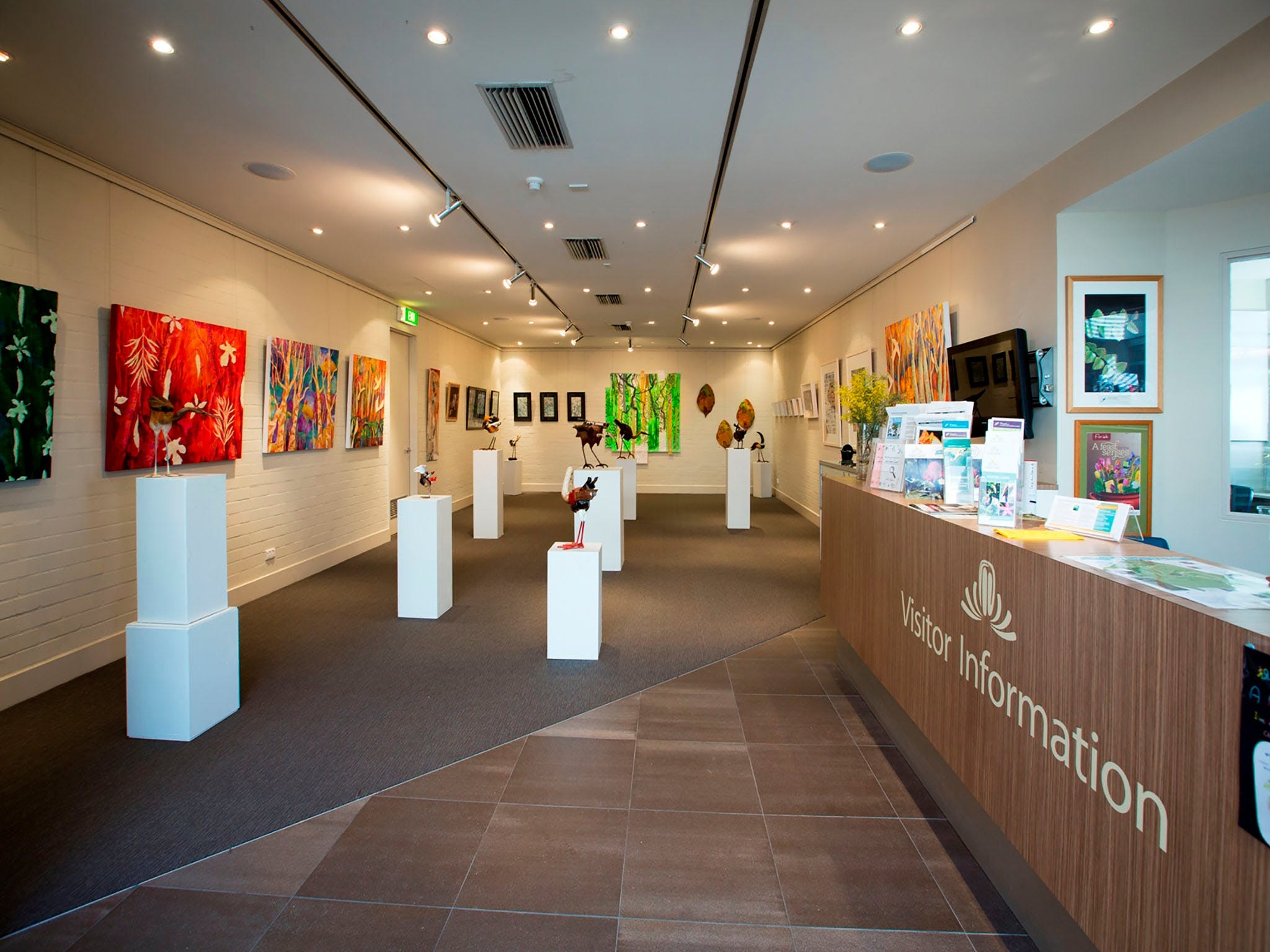 Australian National Botanic Gardens Visitor Centre Gallery - Accommodation Port Macquarie