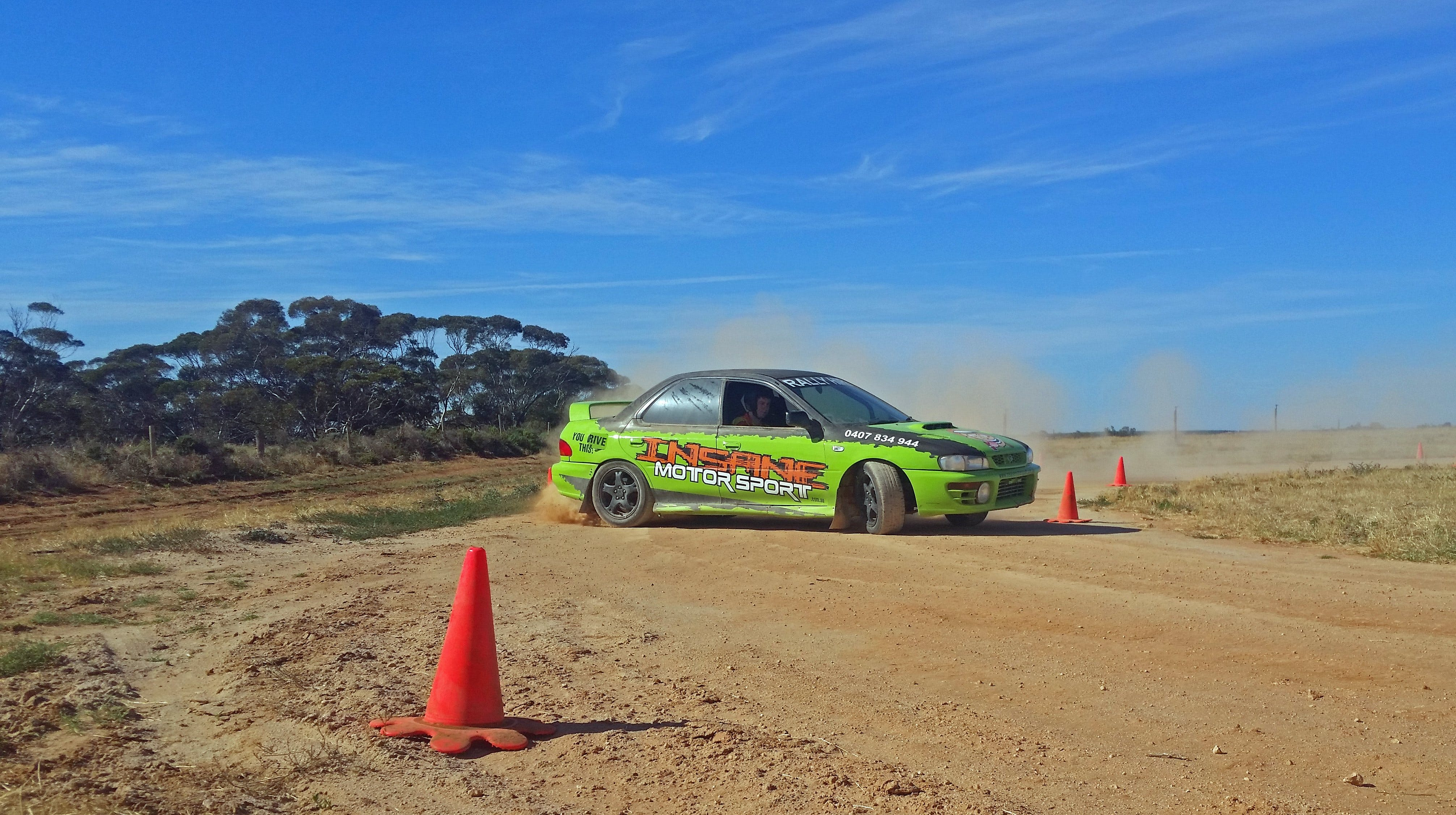Rally Driving Loveday - Accommodation Port Macquarie