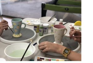 Ceramic Painting Class - Accommodation Port Macquarie