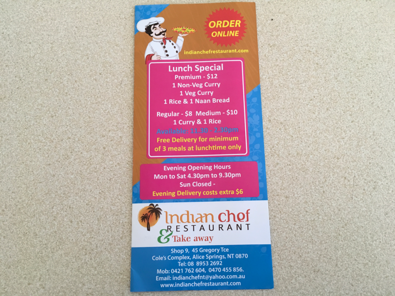 Indian chef restaurant  Take away - Accommodation Port Macquarie