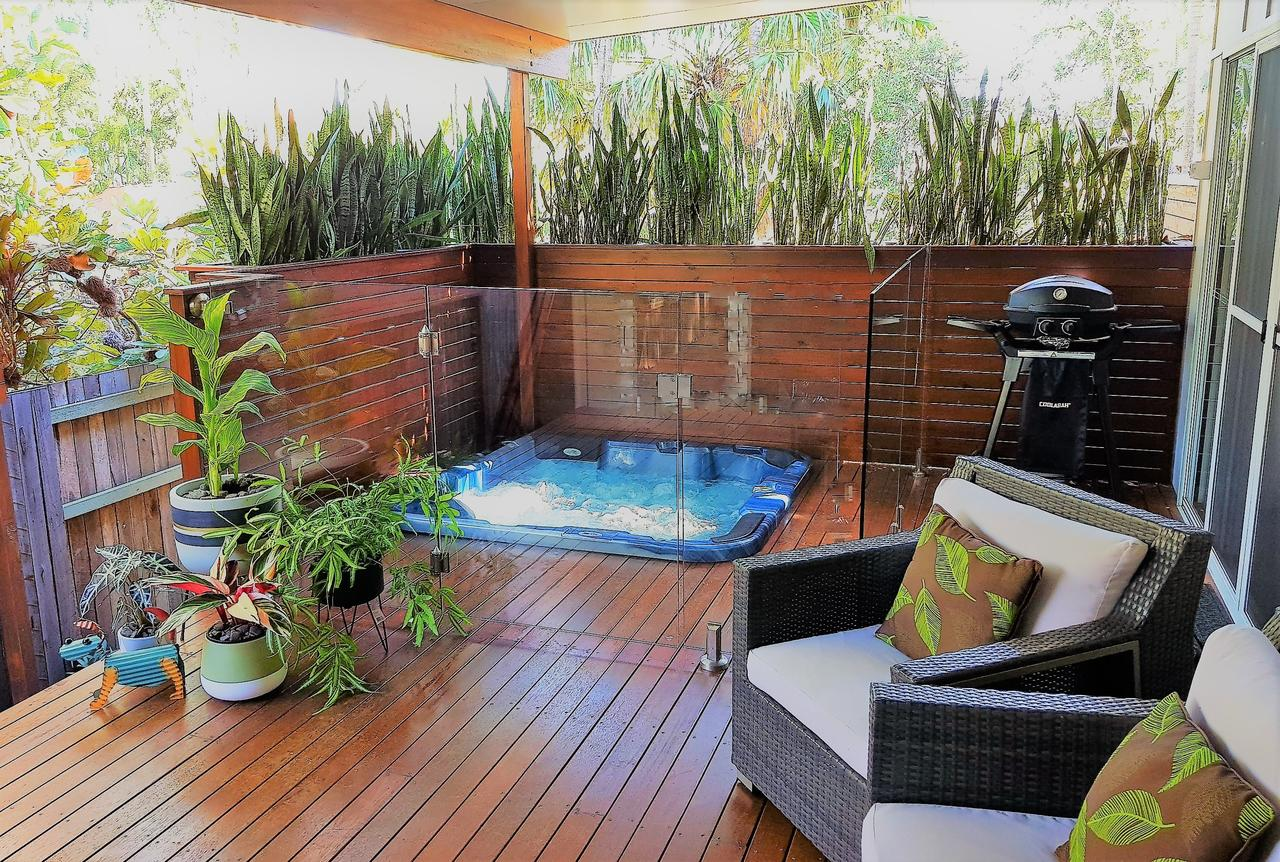 Pandanus Spa Cottage - Accommodation Port Macquarie