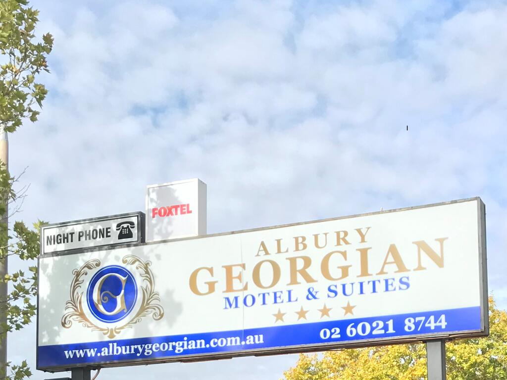 Albury Georgian Motel  Suites - Accommodation Port Macquarie